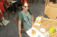 Первый ужин в Праге.