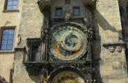 Часы на ратуше.