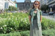 Вацлавская площадь, центр Праги.