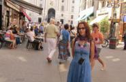 Центральная улица старой Вены.