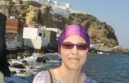 Горный монастырь на скале. о Нисирос.
