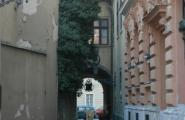 Улочка Замкового квартала Буды.