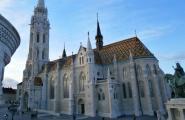 Церковь Святого Маттиаша. Другой ракурс. Замковый квартал в Буде.