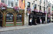 Темпль бар - злачный район Дублина.
