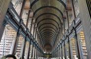 Библиотека в Тринити колледже. Дублин.