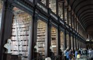 Библиотека Тринити колледжа. Дублин.