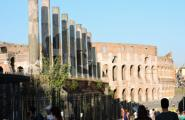 Панорама Форума. Рим.