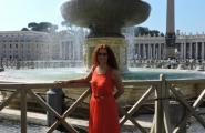 Ватикан. Площадь у Собора Святого Петра.
