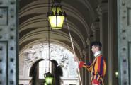 Охранники Ватикана. Рим.