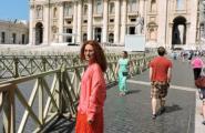 Площадь у Собора. Рим.