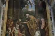 Внутри Собора Святого Петра. Рим, Ватикан.