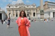 Площадь перед Собором. Рим, Ватикан.