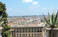 Панорама Ватикана. Рим.