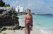 Пляж на Карибском море. Канкун