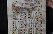 Свидетельство о рождении и личный гороскоп на майянском.