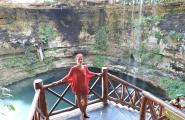 Сенот по пути в Чичен Ицу