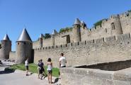 Замок в Каркассоне. Франция.