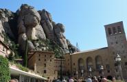 Монастырь. Монтсеррат, Каталония.
